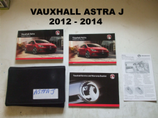 VAUXHAL ASTRA  J  SERVICE MANUAL BOOKLET   2012 - 2014  USED